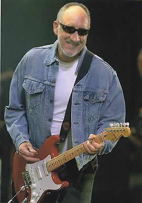 Pete Townshend The Who Photo Exclusive 2005 Huge 12 Inch Unreleased Unique Image