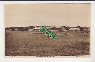 Tuck Postcard - The Race Course, Musselburgh. ( Horse Racing ).