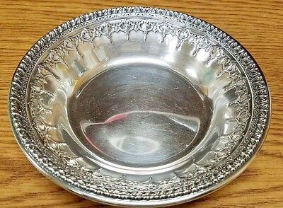 Vintage Reed & Barton Silver Plated Serving Bowl Dish - #1202 EPNS Relief