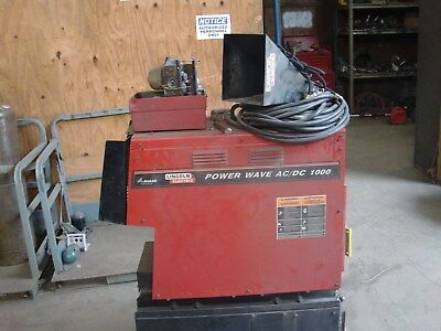 Lincoln Power Wave AC/DC 1000 Welder And NA-10 Controller