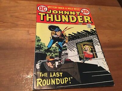 JOHNNY THUNDER #1, Vintage Comic from 1973,  DC ORIGINAL VF/NM 9.0