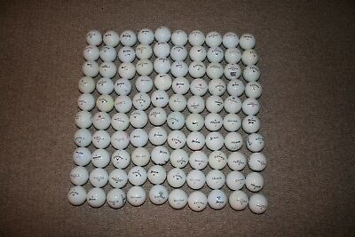 V.cheap -  100.mixed Great Makes, Practice Golf Balls, Srixon, Nike, Callaway.