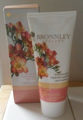 Bronnley Freesia Hand And Nail Cream 100Ml Brand New In Box