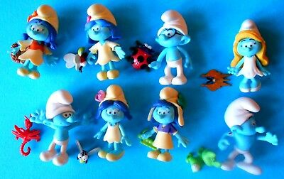 Puffi The Smurfs  The Lost Village Serie Completa Jakks Pacific