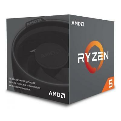 CPU AMD AM4 Ryzen 5 6 Box 2600 3,90 GHz 6xCore 19MB 65W with Wraith Stealth cool
