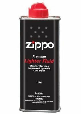 Zippo 125Ml Premium Lighter / Hand Warmer Fluid - Made In Usa / Brand New