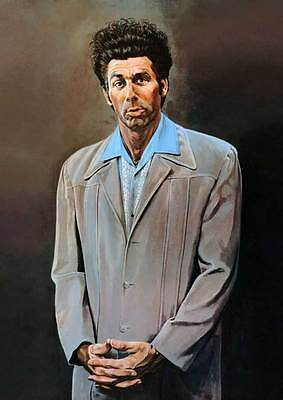 "Seinfeld The Kramer Painting XL CANVAS PRINT poster 24""X 36"""