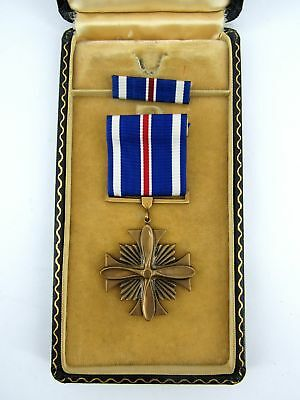 WWII Distinguished Flying Cross & Bar in  Box