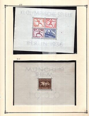 Germany Extras Collection from Full Scott Intern 1840-1940 Album
