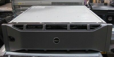 Dell EqualLogic PS4000 iSCSI Storage Array E02J w 2x Type 8 Controllers 16 Caddy