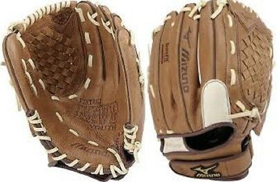 "Mizuno GPL1150T1 11.5"" Prospect Vintage MVP Series Youth Leather Baseball Glove"