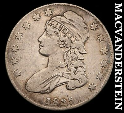 1835 Capped Bust Half Dollar - Very Fine!!  Scarce!!  Better Date!!  #h5920