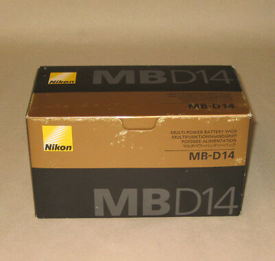 NEW! Nikon MB-D14 Multi Battery Power Pack for Nikon D600 and D610 Digital SLR