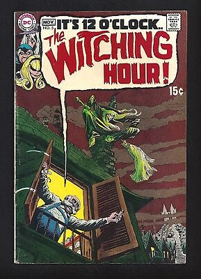 Witching Hour #5  Very Good Fine 5.0!  Wrightson & Toth Art!