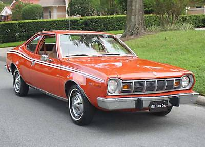 1975 AMC Hornet HATCHBACK COUPE - 38K MI BEAUTIFUL REFRESHED SURVIVOR - 1975 AMC HORNET COUPE - 38K ORIG MILES