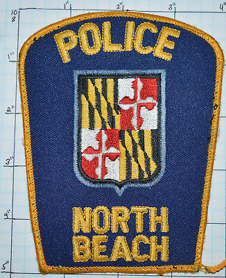 Maryland, North Beach Police Dept Patch