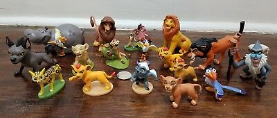 Disney Store Lion King and Lion Guard PVC Figures Set Cake Toppers