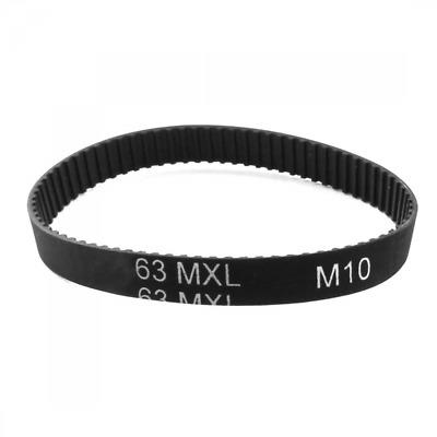 63MXL025 79-Tooth 6.4mm Width Groove Cogged Timing Belt for 3D Printer