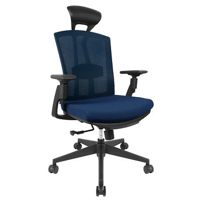 HomyLink Home Office Chair Ergonomic Comfortable Mesh High Back Spine Protection