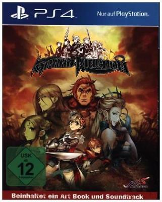 Ps4 Adventure - Grand Kingdom Ps-4 Launch Edition [DE-Version] Playstation  NEW