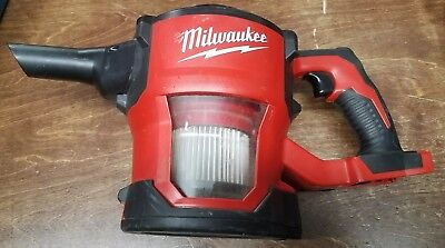 Milwaukee M18 18 0882-20 Cordless Lithium Ion Compact Hand Vacuum Tool Only RED