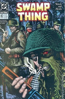 Swamp Thing (2nd Series) #82 1989 FN Stock Image