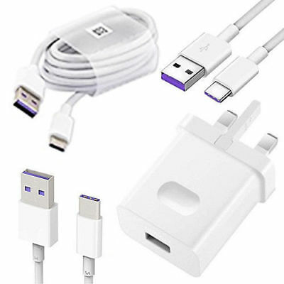Huawei SuperCharge 4.5A HW-050450B00 Mains Charger Adapter + 5A Type C USB Cable