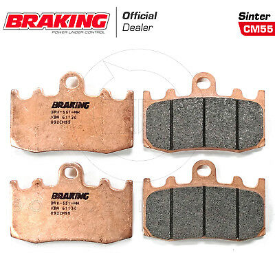 Kit Pastiglie Freno Braking Anteriore Sinter Bmw R 1200 Gs 2004-2007