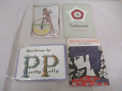 Job Lot of Vintage Ladies Stockings Pretty Polly Penny Farthing Young Elegance