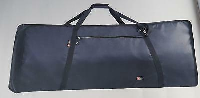 Crossrock 76 Note Padded Keyboard Gig Bag Heavy Duty with Straps 1175x430x200mm