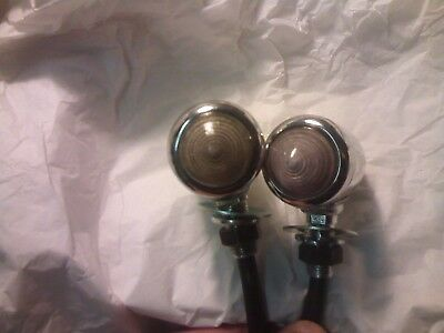 Pair of Lucas 516 Sidelights Austin A30 A35 AJS Very Good Condition