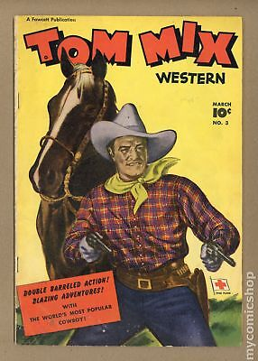 Tom Mix Western (Fawcett) #3 1948 VG 4.0