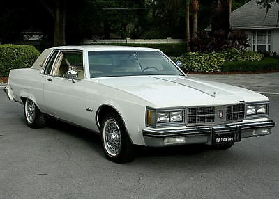 1981 Oldsmobile Ninety-Eight REGENCY COUPE -TWO OWNER - 78K MILES TWO OWNER  - TOP OF THE LINE -1981 Oldsmobile 98 Regency Coupe - 78K ORIG MILES