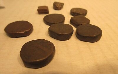 9 Indian State Dump Coins Copper