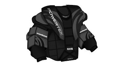 fd4ec6d087a New Powertek Goal chest and arm protector size sz Sr XL senior goalie ice  hockey