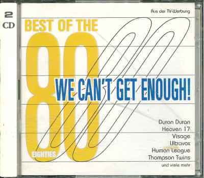 WE CAN'T GET ENOUGH - BEST OF THE 80s  2CD-Sampler