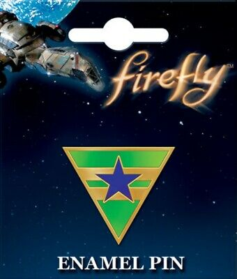 Firefly/Serenity Independents Patch Logo Licensed Enamel Metal Lapel Pin NEW