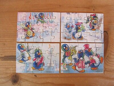 1 Ü Ei Puzzle Peppy Pingo Party 1994 mit Beipackzettel
