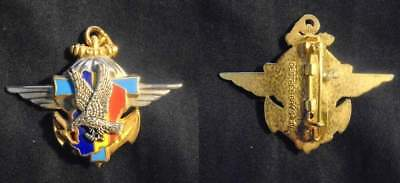 Insigne Militaire – Centre Tactique Transmissions - Tchad Epervier - Destree Bry