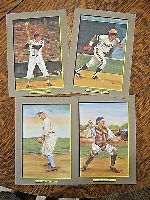 1988 Baseball Hall of Fame Perez-Steele Great Moments cards w/box- 4th Series