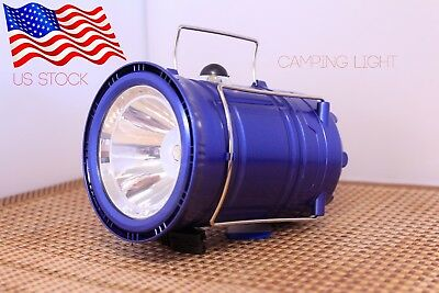 🇺🇸 Solar Flashlight / Lantern / Torch Camping Portable Rechargeable LED Light