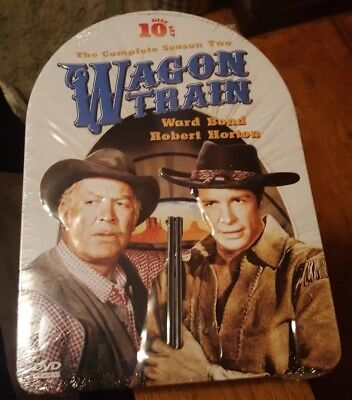 Wagon Train: The Complete Season Two (10-Disc DVD Set) LIMITED EDITION TIN NEW