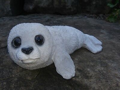 1988 Animal Classics Harp Seal Figurine  - United Design