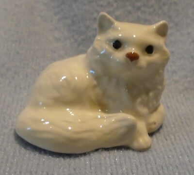 Vintage Hagen Renaker White Persian Cat