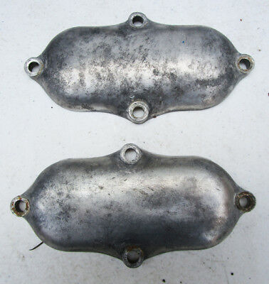 Bsa Motorcycle A10 A7 Twin Engine Valve/rocker Inspection Covers Flash Rocket