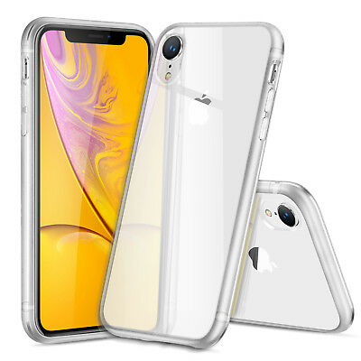DD For iPhone XR CLEAR Case Cover Shockproof Silicone Gel Protective TOUGH Skin
