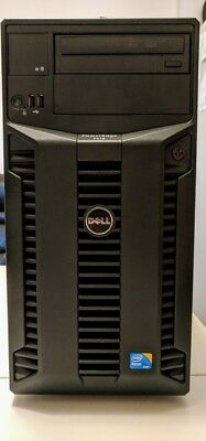 DELL PowerEdge T410 Tower Server 32GB RAM 1.6TB HDD 2.4 GHz Dual Power Supply