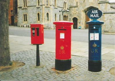 George V. Air-mail Postbox & Stamp Vending Machine, Windsor Castle - Unposted.