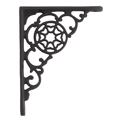 Signature Hardware Labyrinth Cast Iron Shelf Bracket