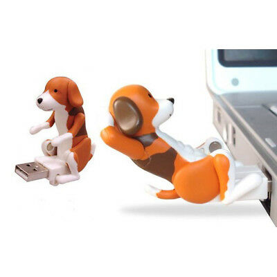 Portable Mini Cute USB Funny Humping Spot Dog Toy for Relieve Pressure Gift HOT